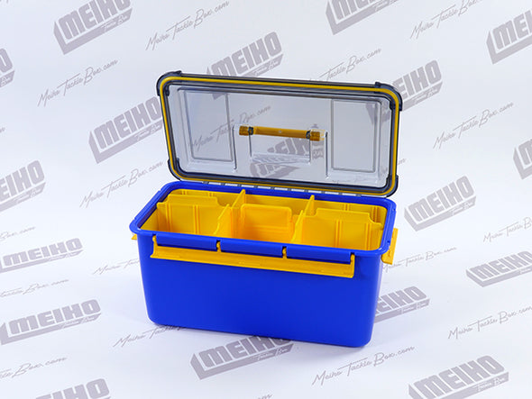 Water Resistant Hinged Lid Plastic Tackle Box