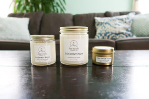 Coconut Palm Candle - True Nature Candle Co.