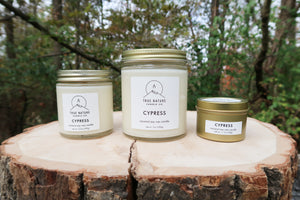 Cypress Candle Set - True Nature Candle Co.