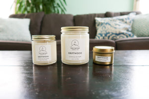Driftwood Candle - True Nature Candle Co.