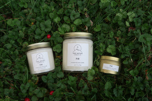 Fir Candle Set - True Nature Candle Co.