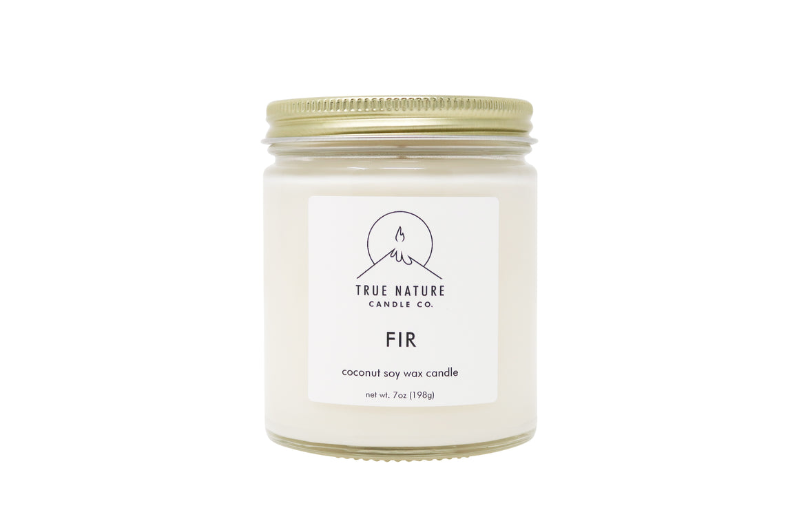 Fir Candle - True Nature Candle Co.