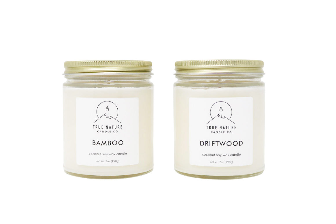 Large Candle Bundle - Set of 2 - True Nature Candle Co.