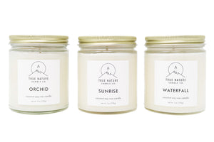 Large Candle Bundle - Set of 3 - True Nature Candle Co.