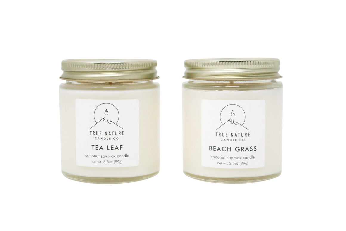 Small Candle Bundle - Set of 2 - True Nature Candle Co.