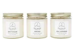 Small Candle Bundle - Set of 3 - True Nature Candle Co.