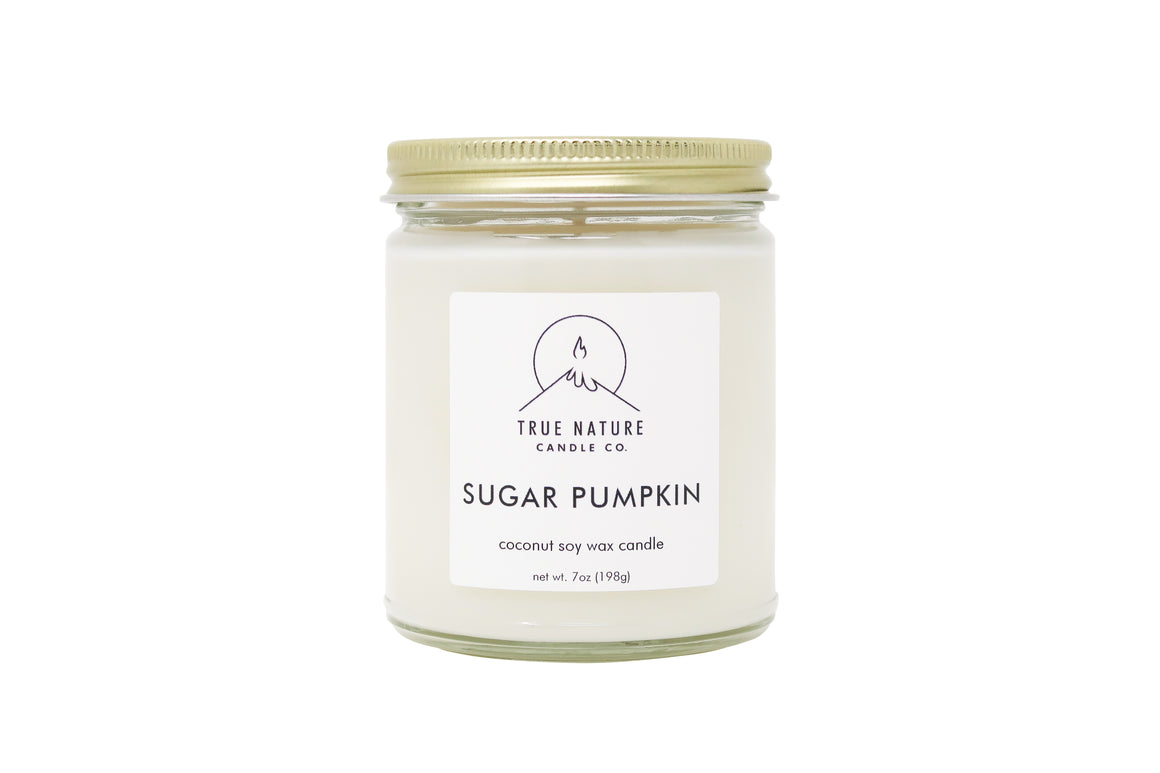 Sugar Pumpkin Candle - True Nature Candle Co.