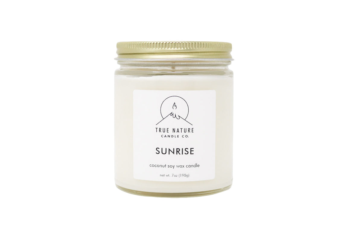 Sunrise Candle - True Nature Candle Co.