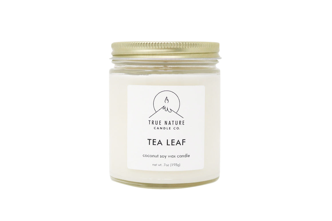 Tea Leaf Candle - True Nature Candle Co.
