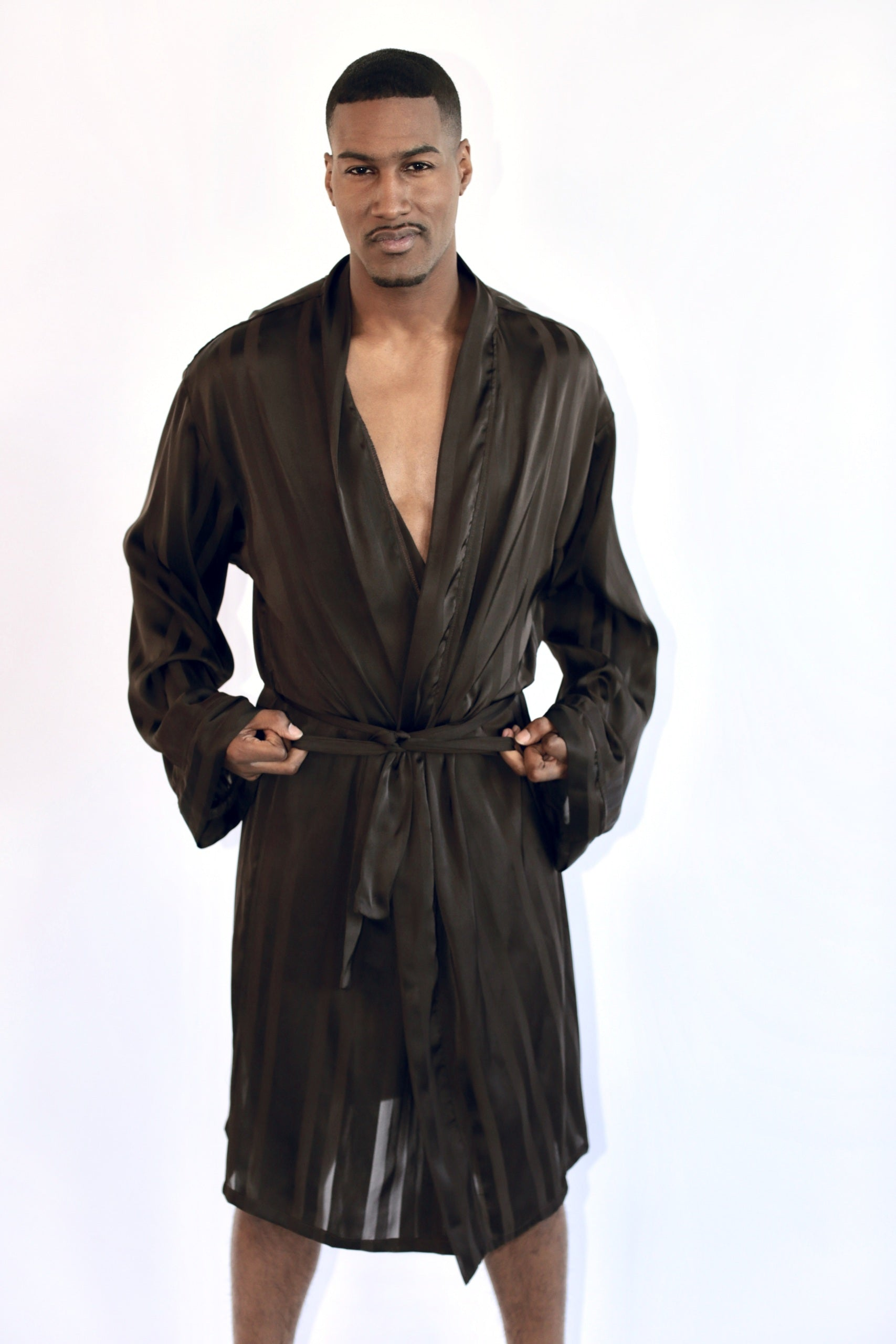 Men's Silk Robe