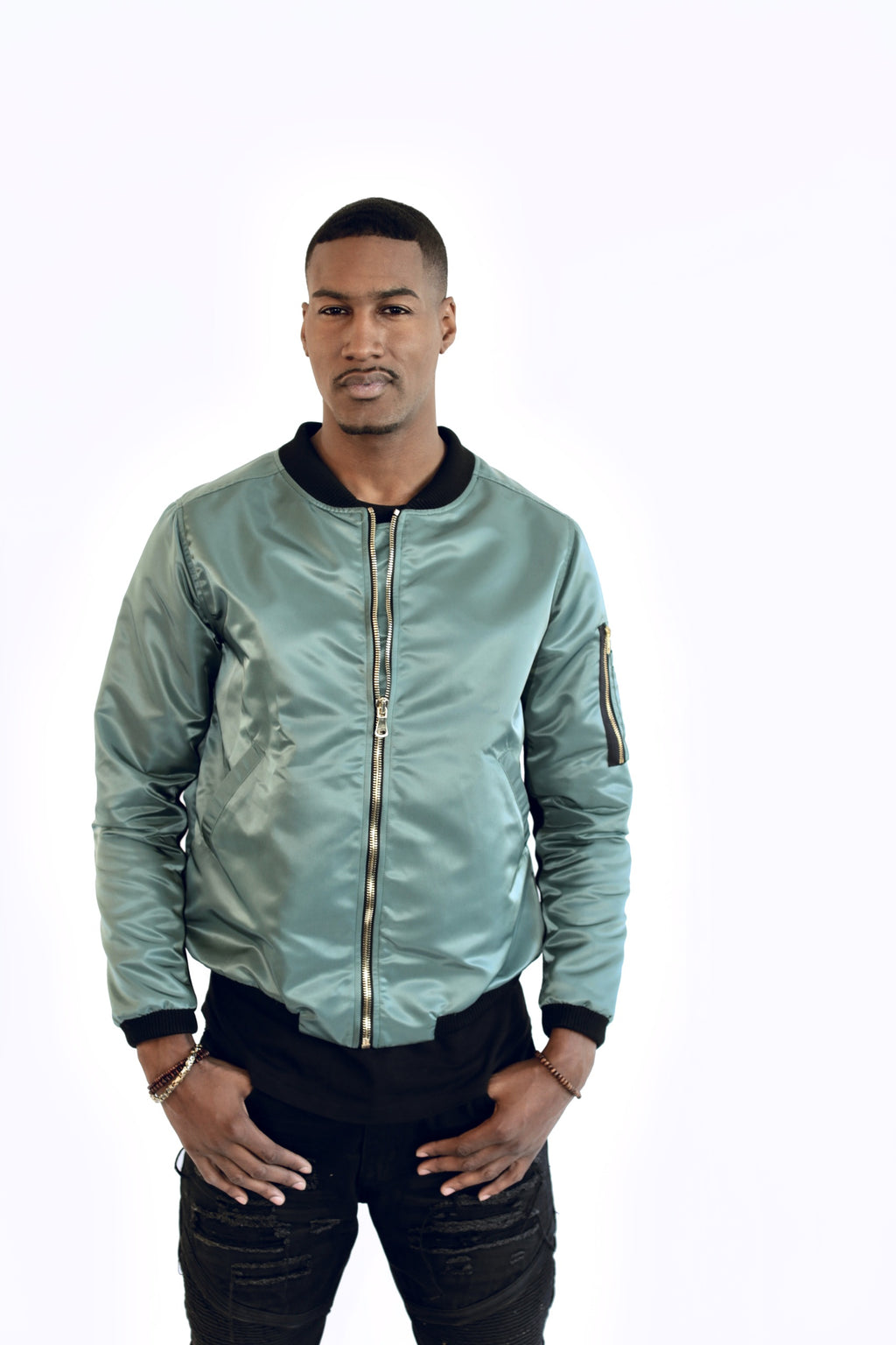 Custom Military Men's Bomber Jacket