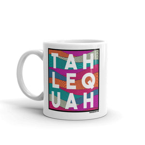 Tahlequah Mug - Mural Background