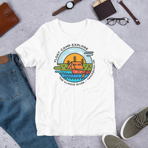 Float - Camp - Explore Illinois River Premium T-Shirt