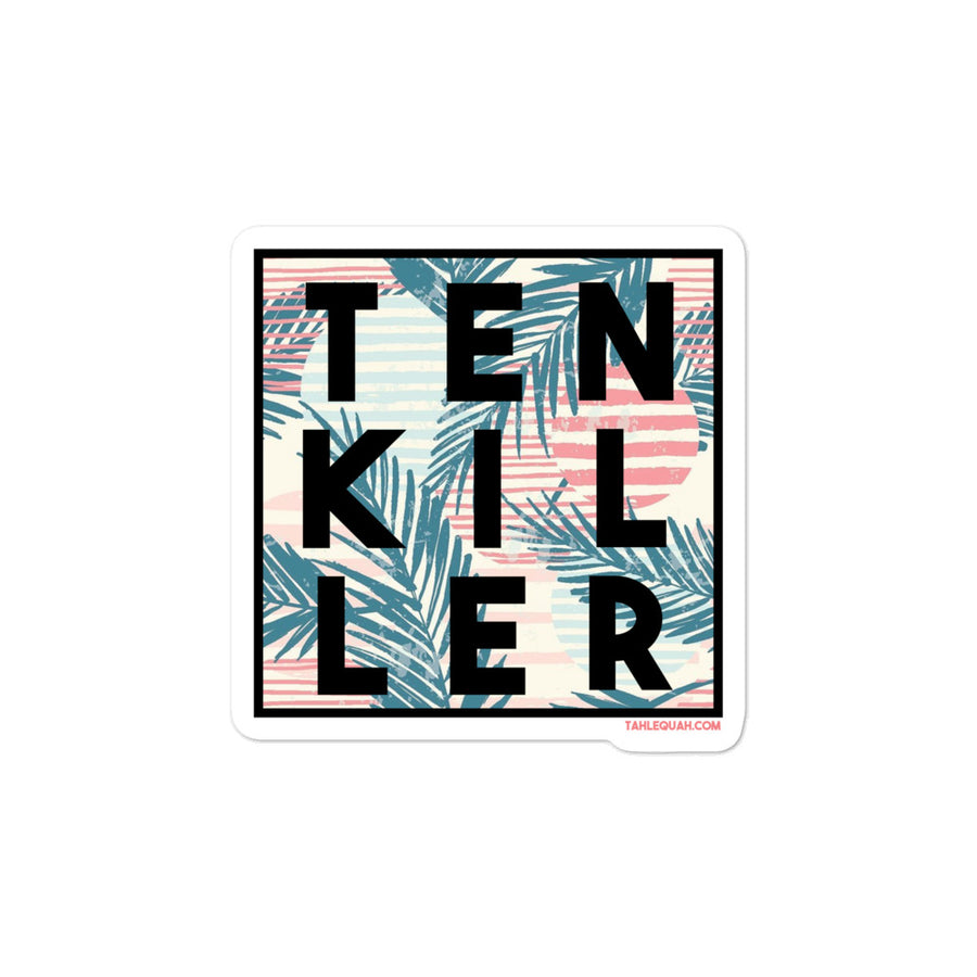 Tenkiller Palms Sticker