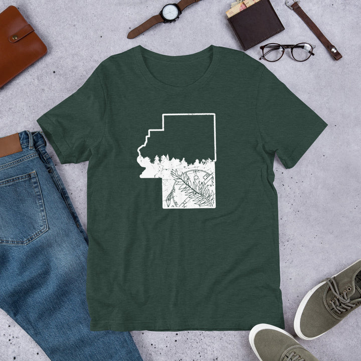 Go On Back to Cherokee County - Premium T-Shirt
