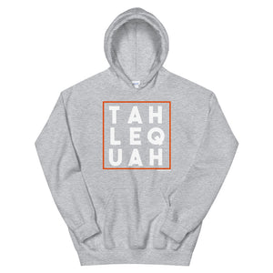 Tahlequah Orange/White Hoodie