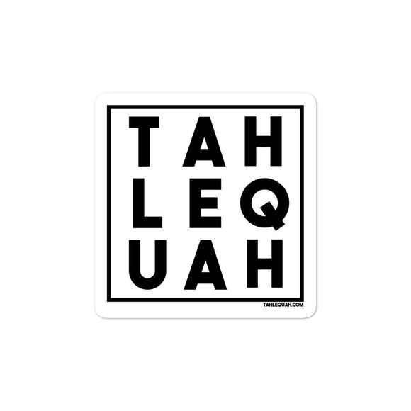 Tahlequah Sticker