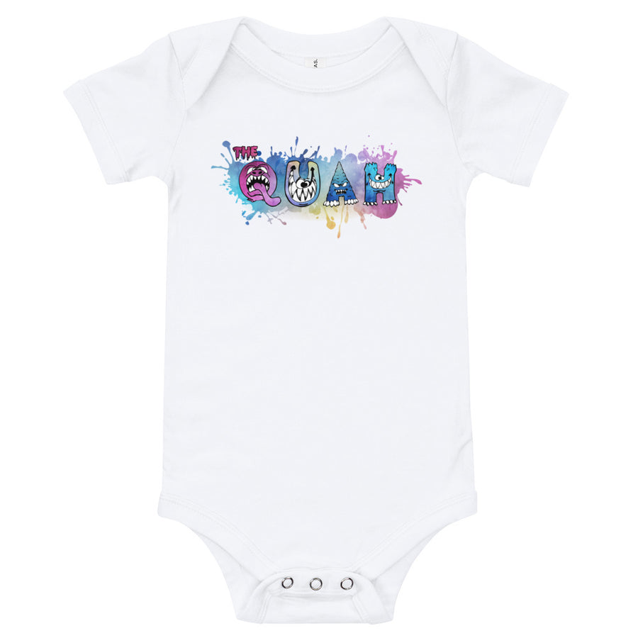 Quah Monster Baby Onesie