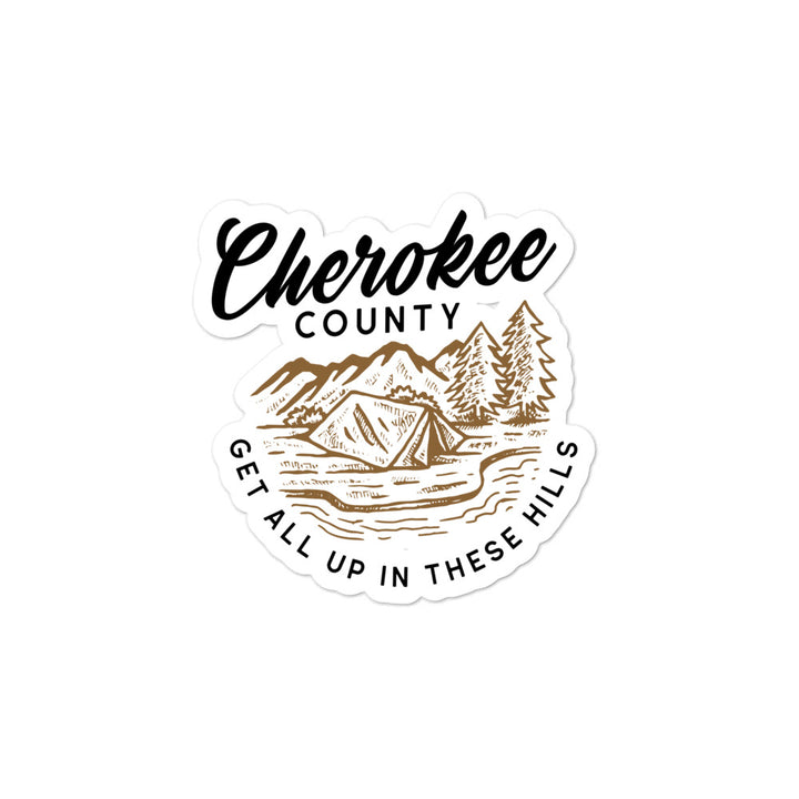 Cherokee County Sticker