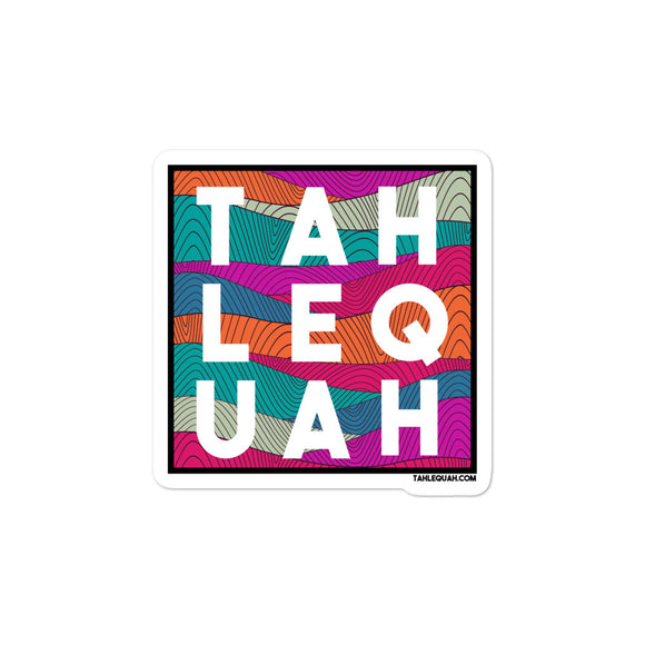 Tahlequah Sticker - Mural Background