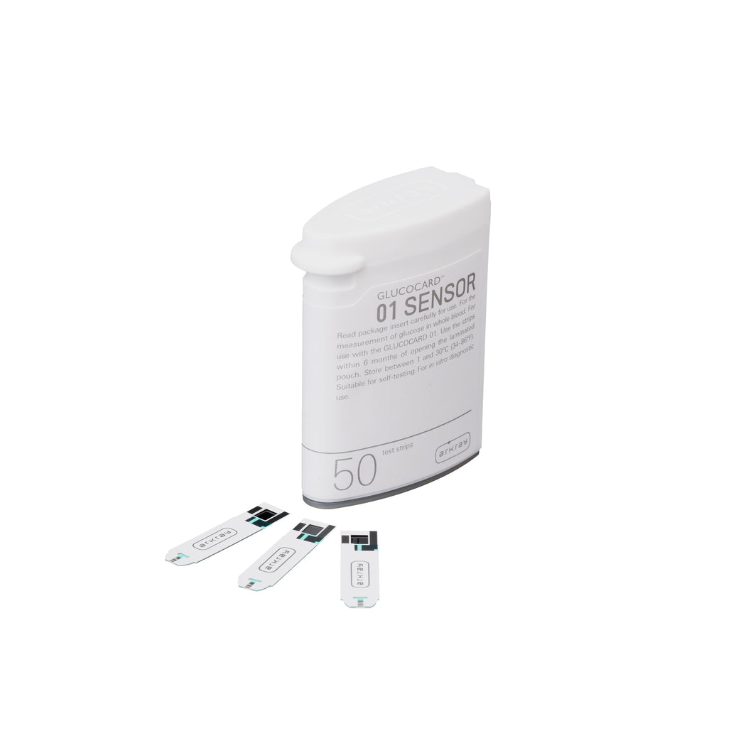 Glucocard 01 sensor for mini /mini plus - 50s BottlePack