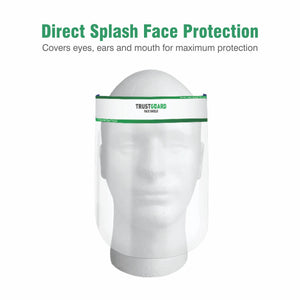 TrustGuard Face Shield, Face Protective Gear - Pack of 3