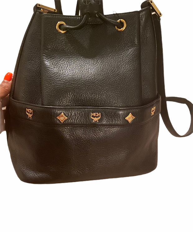 MCM Bucket Bag - Sheree & Co. Designer Consignment