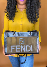 Fendi Mesh Tote - Sheree & Co. Designer Consignment