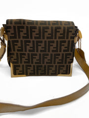 Fendi Zucca Crossbody - Sheree & Co. Designer Consignment