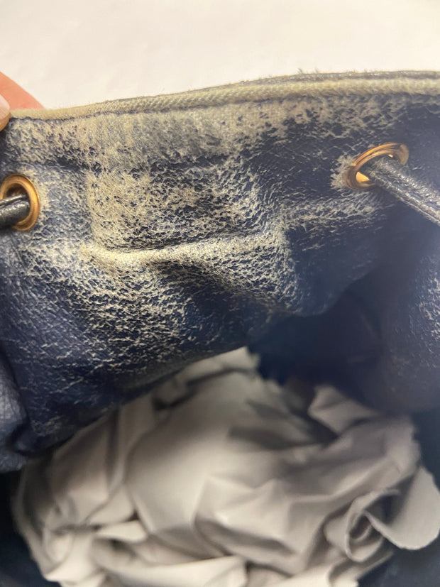 Gucci Navy Bucket - Sheree & Co. Designer Consignment