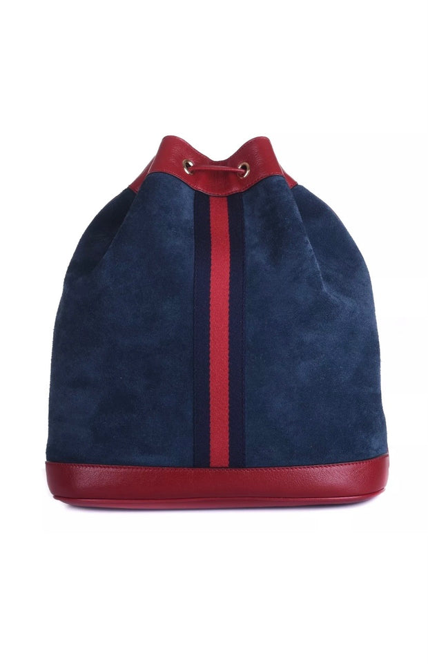 Gucci Rajah Suede Bucket Bag - Sheree & Co. Designer Consignment