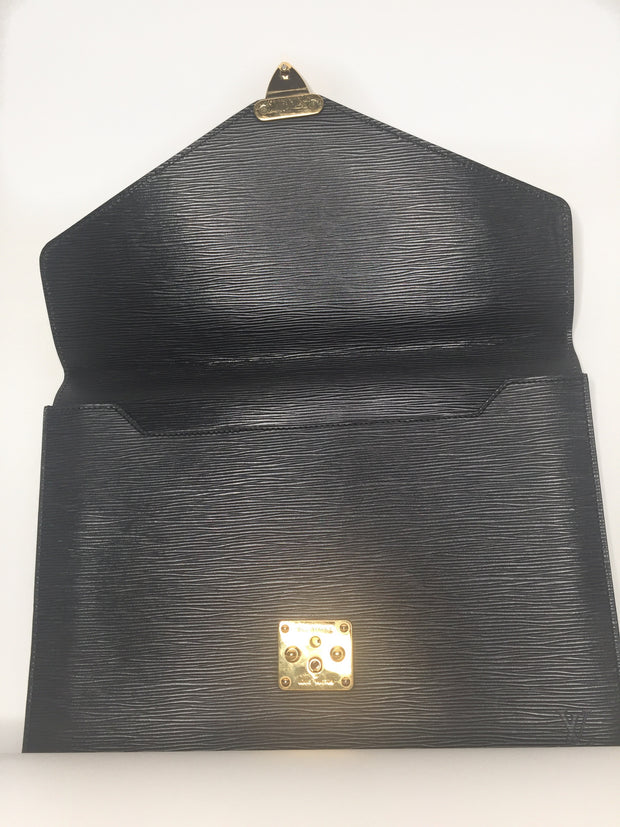 Louis Vuitton Epi Clutch - Sheree & Co. Designer Consignment