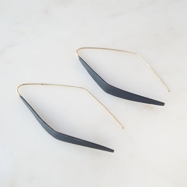Geo Drop Earring