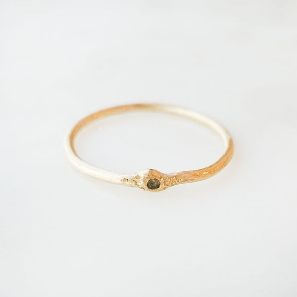 Gold Lucy Stack Diamond Ring