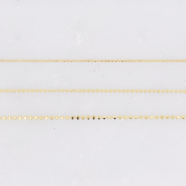 Diamond Cut Bead Chain