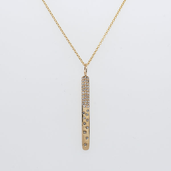 Petite Galaxy Bar Necklace