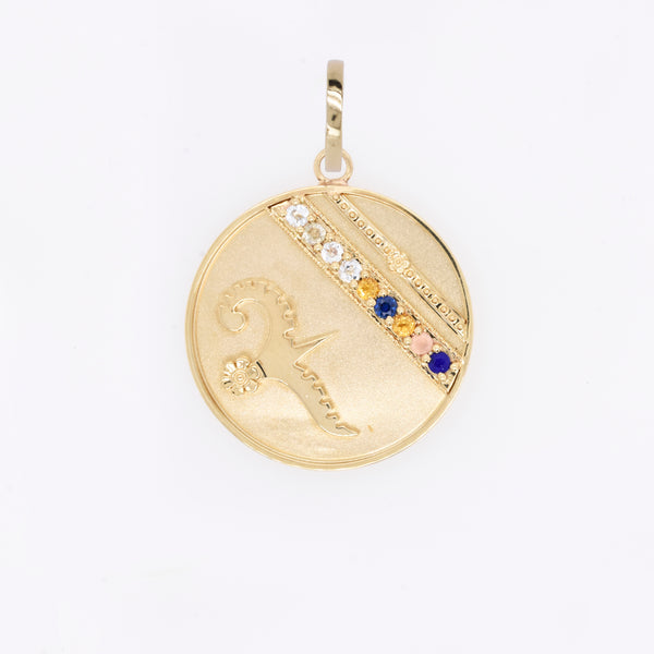 """Always You"" Lily Dove Medallion"