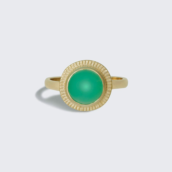 Gemstone Burst Ring