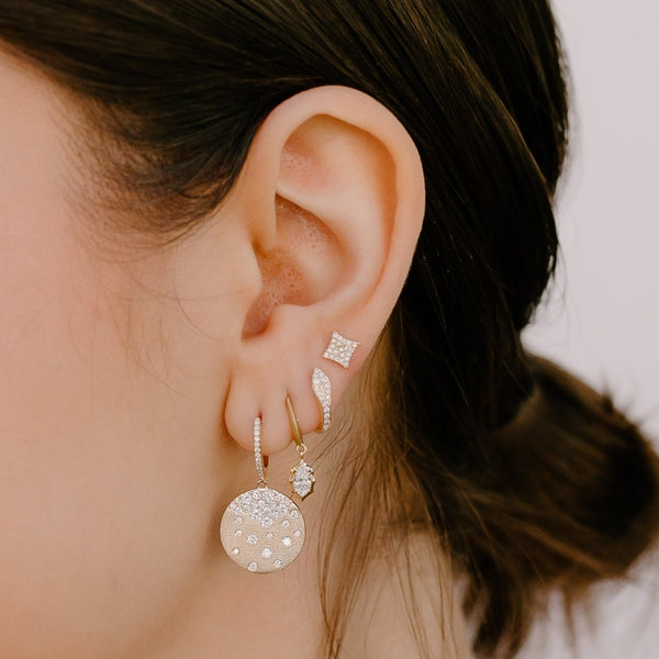 Pavé Diamond Starlight Studs