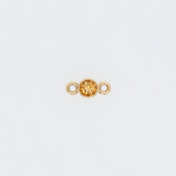 Citrine Positivity (November) Endless Bracelet Charm