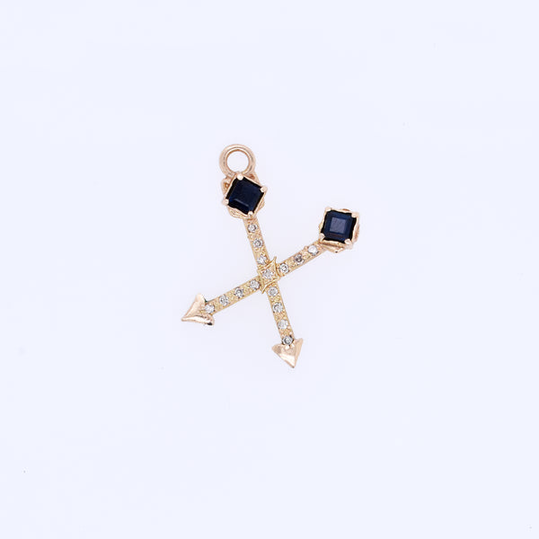 Crossed Arrow Charm