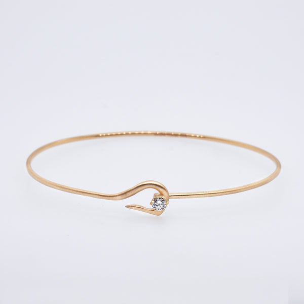Penelope Diamond Hook Bracelet