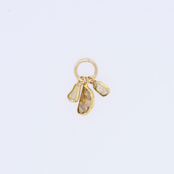 18k Diamond Light Cluster Charm