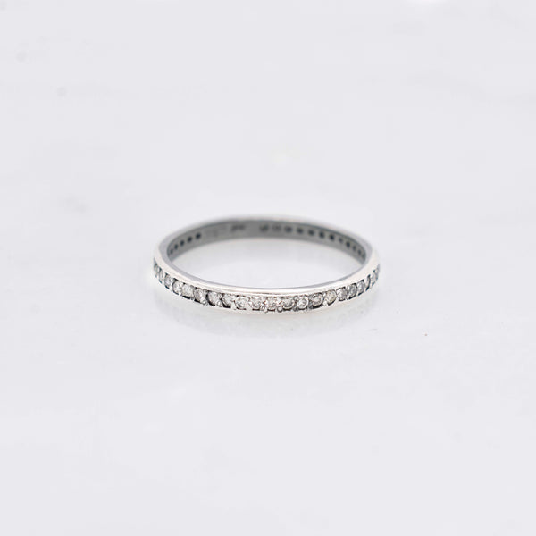 Silver Diamond Stack Band