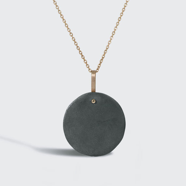 Discus Pendant Necklace
