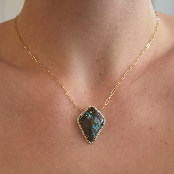Kite Boulder Opal Collette Necklace