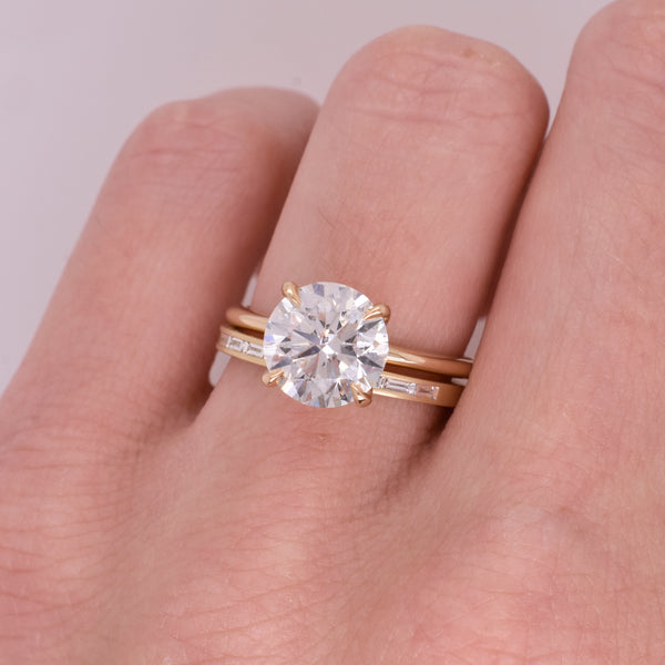 Emma Round 2.31ct Diamond Engagement Ring