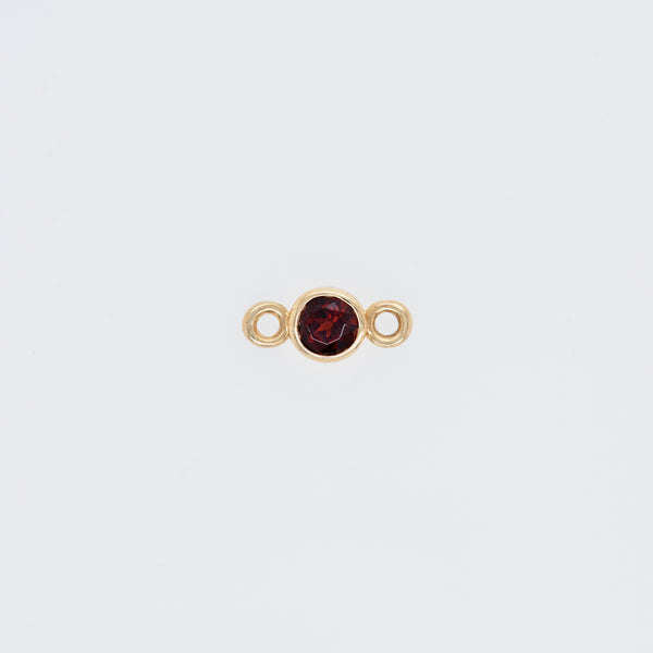 Garnet Strength (January) Endless Bracelet Charm