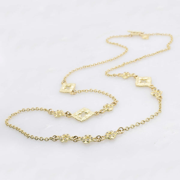 Sueno Gold and Diamond Necklace