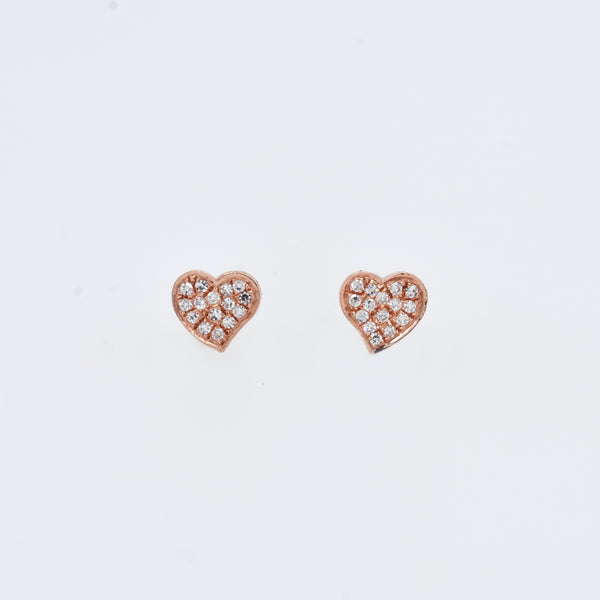 Pavé Diamond Amour Studs